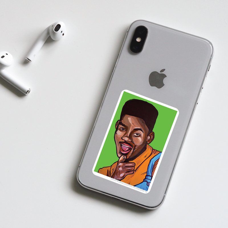 Will Smith Pop Art Sticker