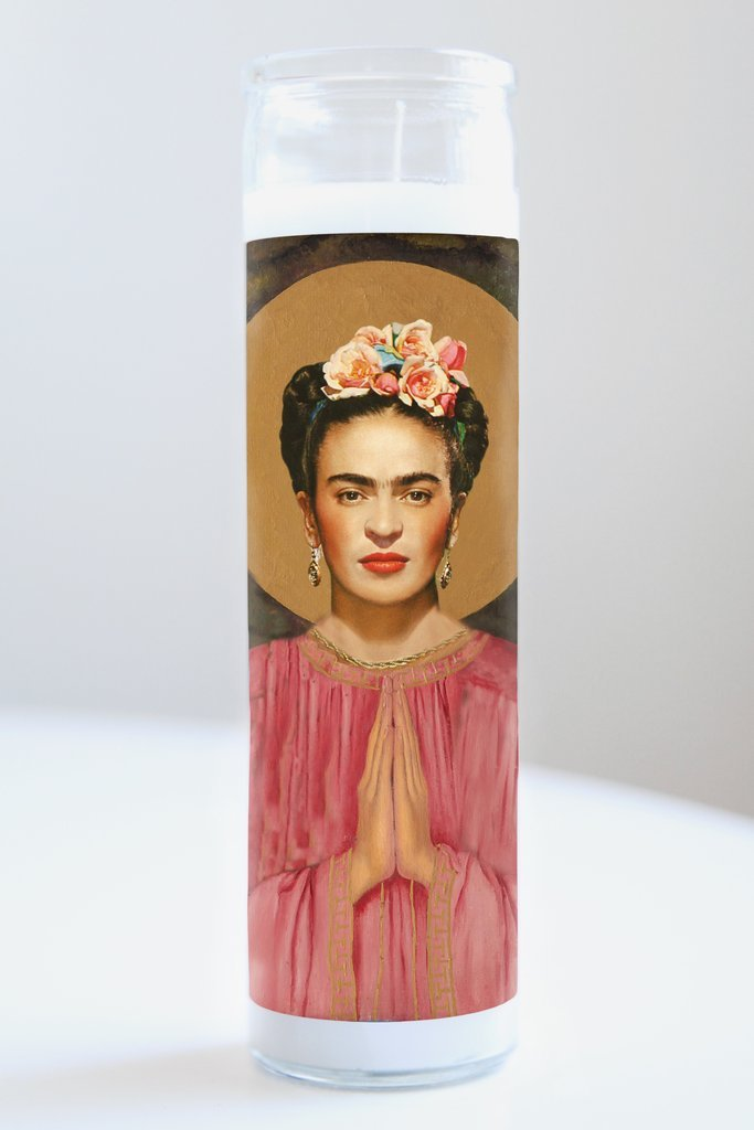Frida Khalo Idol Candle