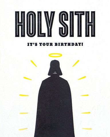 Holy Sith! Birthday Card
