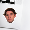 Jim Halpert Celebrity Head Sticker - The Office