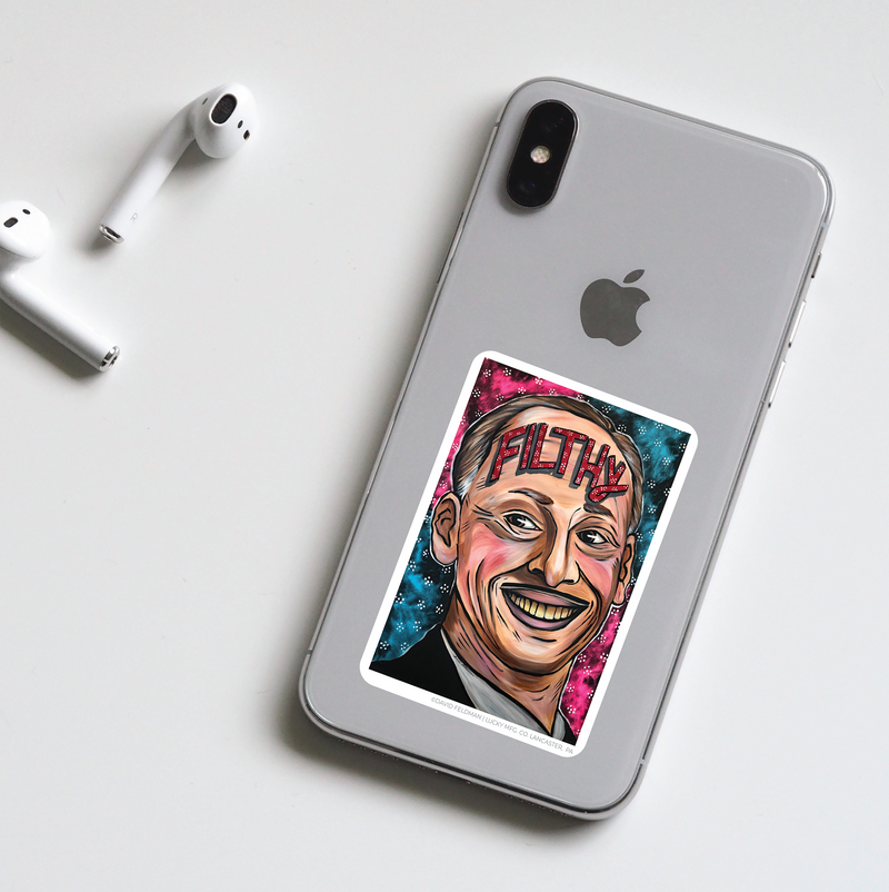 John Waters Pop Art Sticker