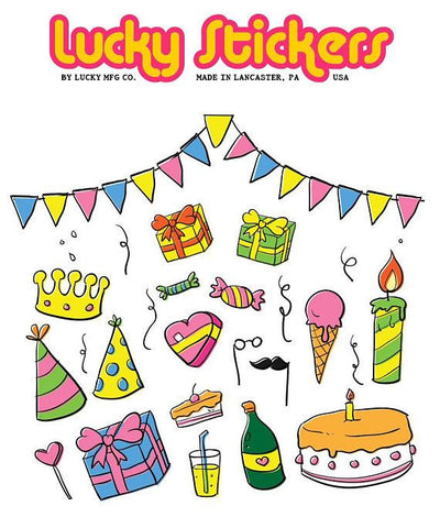 Birthday III - Lucky Stickers