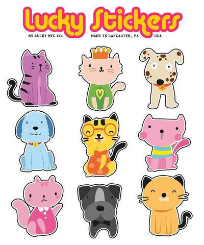 Furry Friends - Lucky Stickers