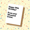 Weight is a Lie- Best Friend Birthday Card