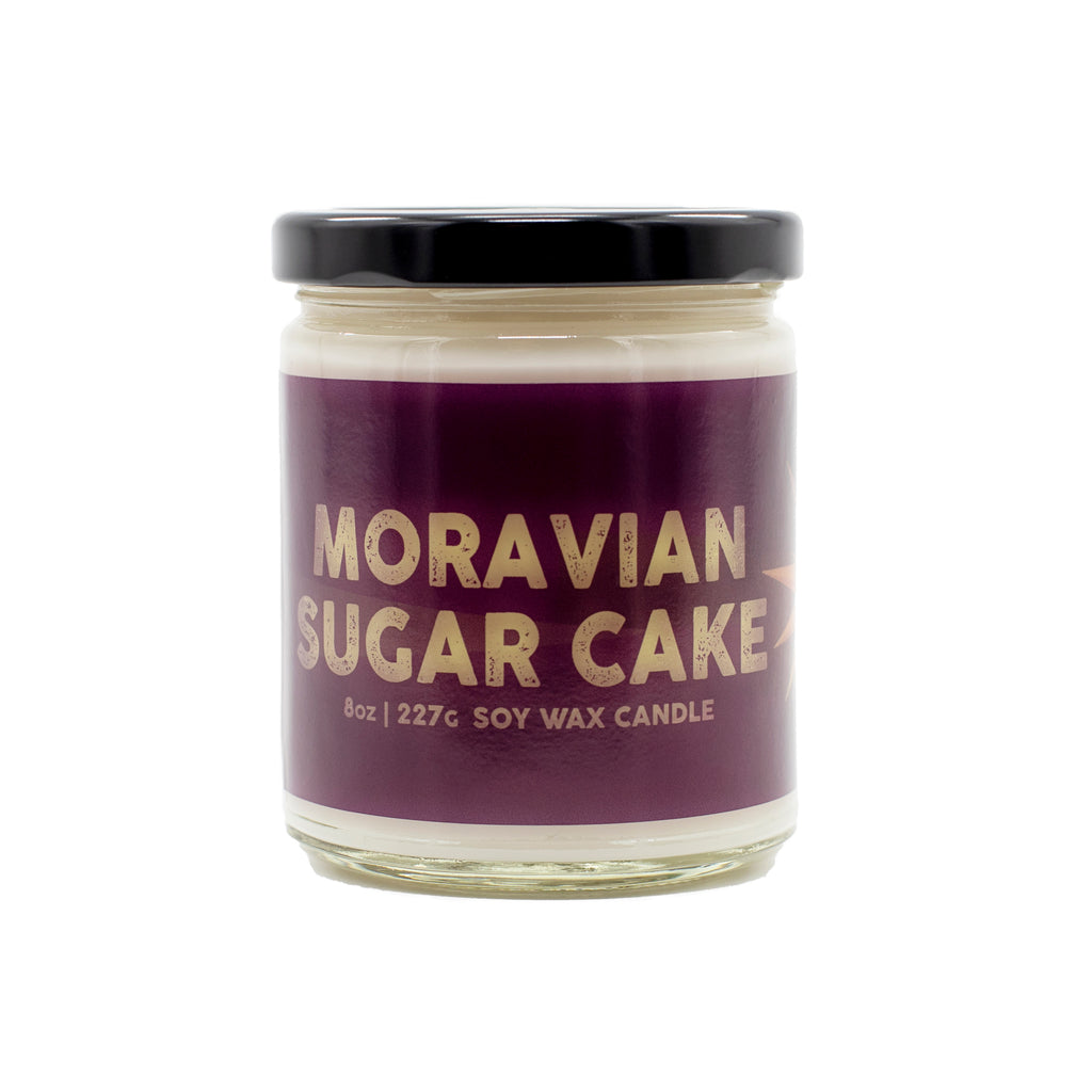 Lancaster County, PA Moravian Sugar Cake Candle