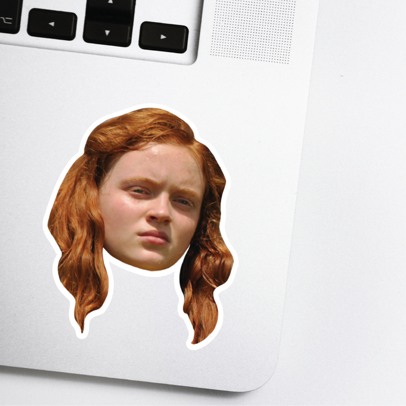 Max Celebrity Head Sticker - Stranger Things