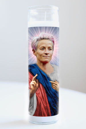 Megan Rapinoe Idol Candle