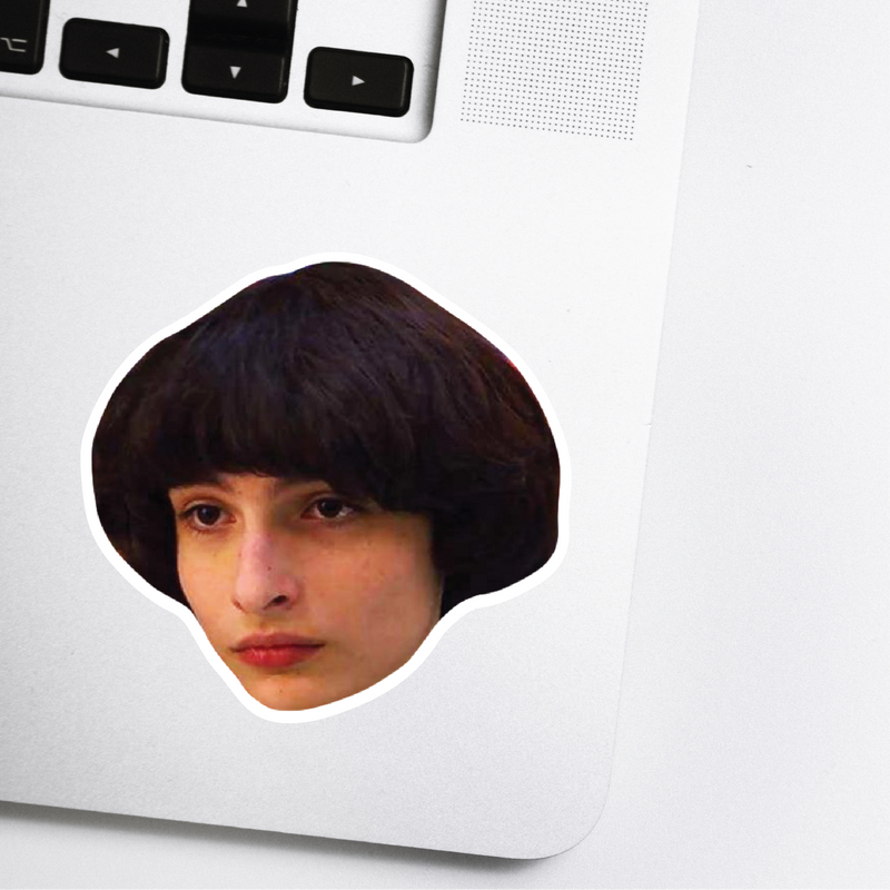 Mike Celebrity Head Sticker - Stranger Things