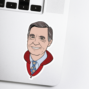 Mr. Rogers Hand-drawn Sticker