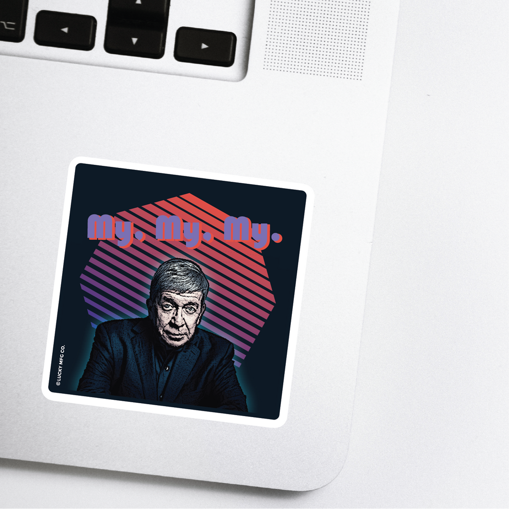 Joe Kenda True Crime Sticker - Homicide Hunter