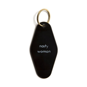 Nasty Woman Tag Keychain