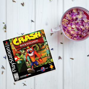 Crash Bandicoot PS1 Tile Coaster