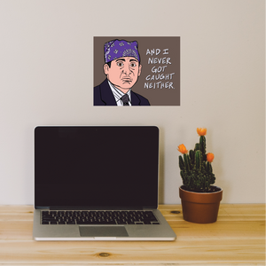 Prison Mike The Office Print - 8x10""