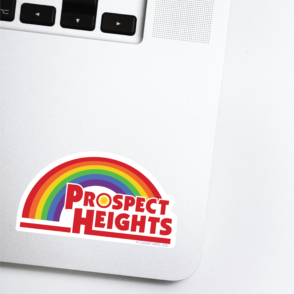 Prospect Heights Lancaster Pennsylvania Neighborhood - 80s TV Sticker