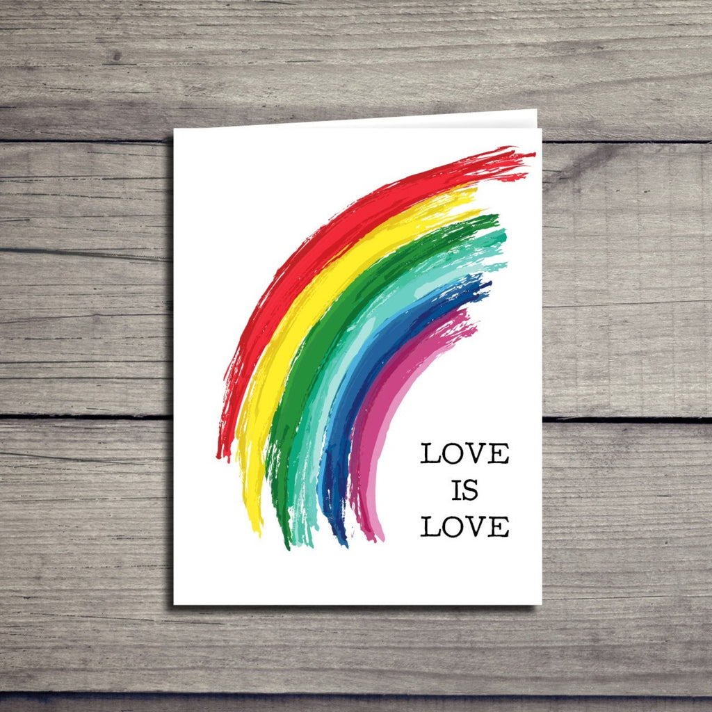 """Love is Love"" Pride Card"
