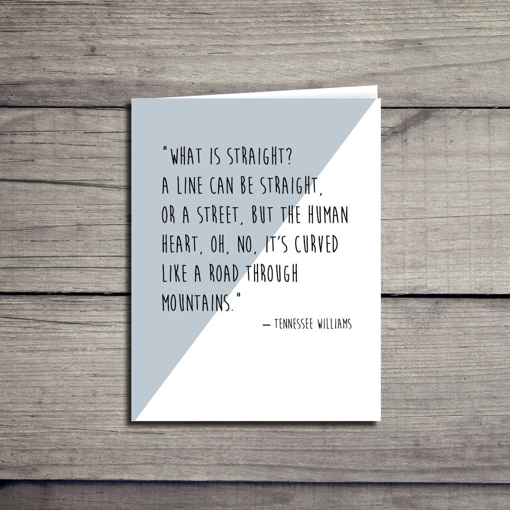 Inspirational Equality Love Quote Card
