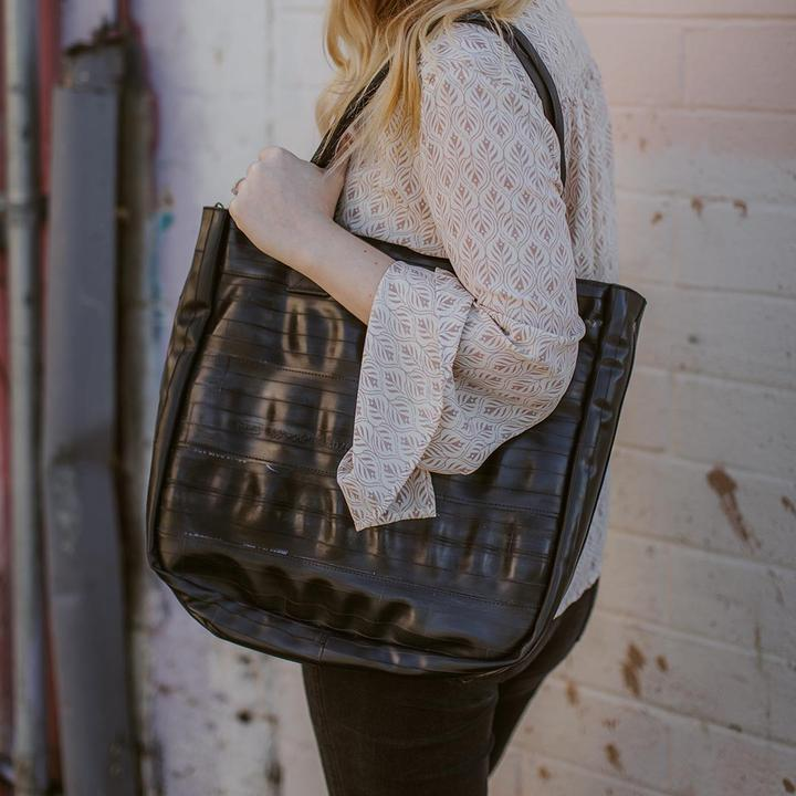 Rainier Zip Top Shoulder Bag by Alchemy Goods