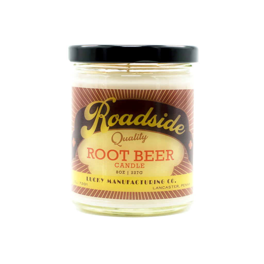 Lancaster County, PA Roadside Rootbeer Candle