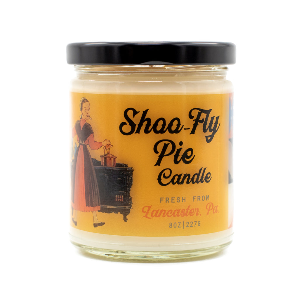 Lancaster County, PA Amish Shoo-Fly Pie Candle