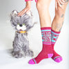 My Cat Says You're Dumb Ribbed Gym Socks by Gumball Poodle