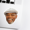 Samuel L. Jackson Celebrity Head Sticker