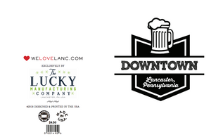 Downtown Brew Lancaster Card