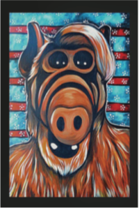 Alf Pop Art Sticker