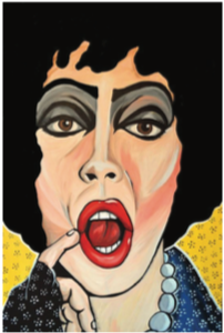 Frankenfurter Pop Art Sticker