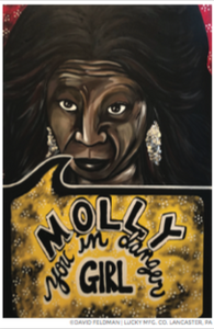 Whoopi Golberg Pop Art Sticker