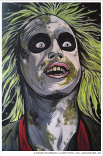 Beetlejuice Pop Art Sticker