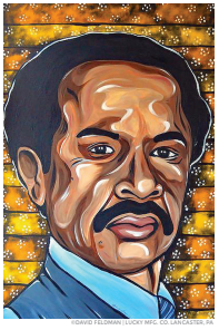 George Jefferson Pop Art Sticker