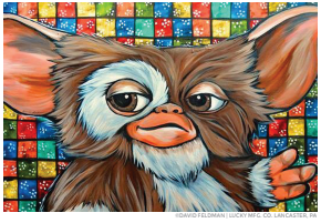 Gizmo Pop Art Sticker
