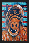 Alf Pop Art Postcard