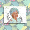 """Ditty Bag"" Golden Girls All Occasion Card"