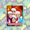 Four Golden Girls Christmas Card
