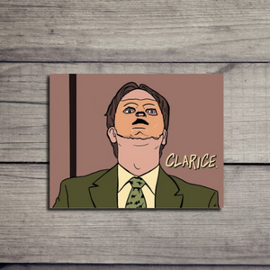 The Office Card - Dwight Schrute