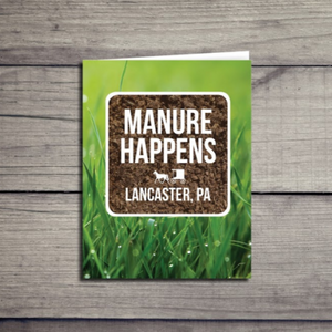 Manure Happens Lancaster Pennsylvania Card