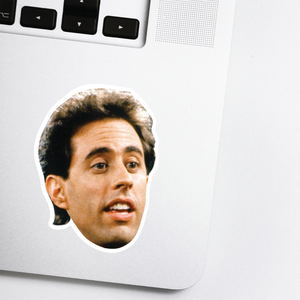 Jerry Seinfield Celebrity Head Sticker