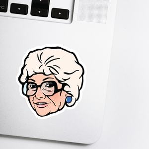 Golden Girls Sticker - Sophia Celebrity Head