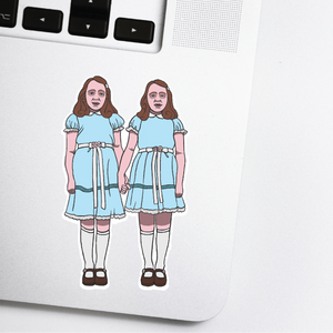 The Shining Twins Sticker
