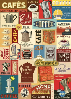 Coffee Chart Poster Wrap