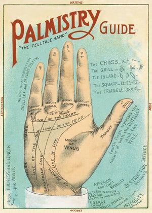Palmistry Guide Poster Wrap