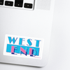 West End Lancaster Pennsylvania Neighborhood - 80s TV Sticker