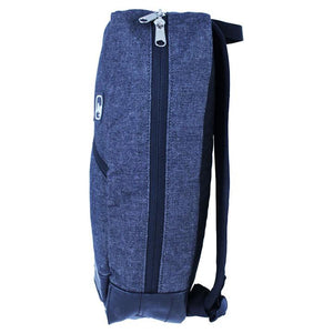 Fremont Salvaged Charcoal Denim Backpack by Alchemy Goods