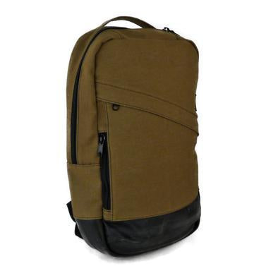 Brooklyn Brown Denim Backpack by Alchemy Goods
