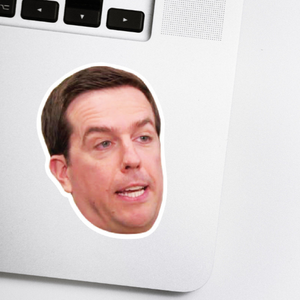 Andy Bernard Celebrity Head Sticker - The Office