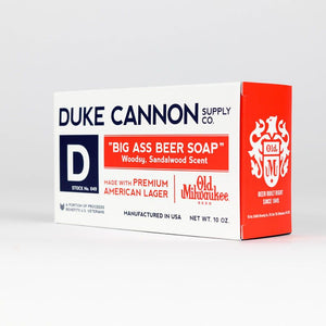 Duke Cannon's Big Ass Beer Soap
