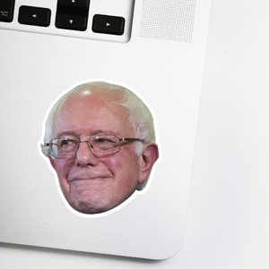 Bernie Sanders Celebrity Head Sticker