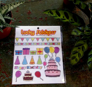 Birthday Sticker Pack - Set 1