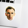 Chris Evans Celebrity Head Sticker